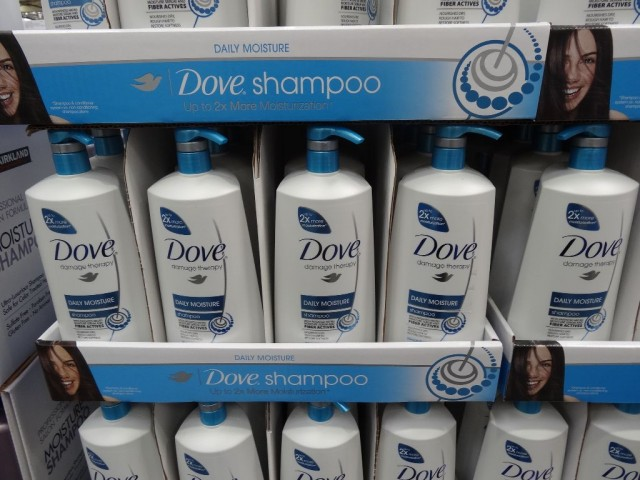 Dove Shampoo and Conditioner Costco