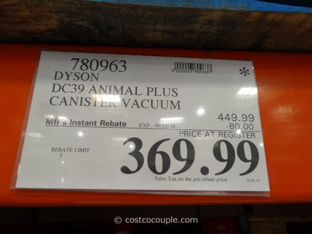 Dyson DC39 Animal Plus Costco