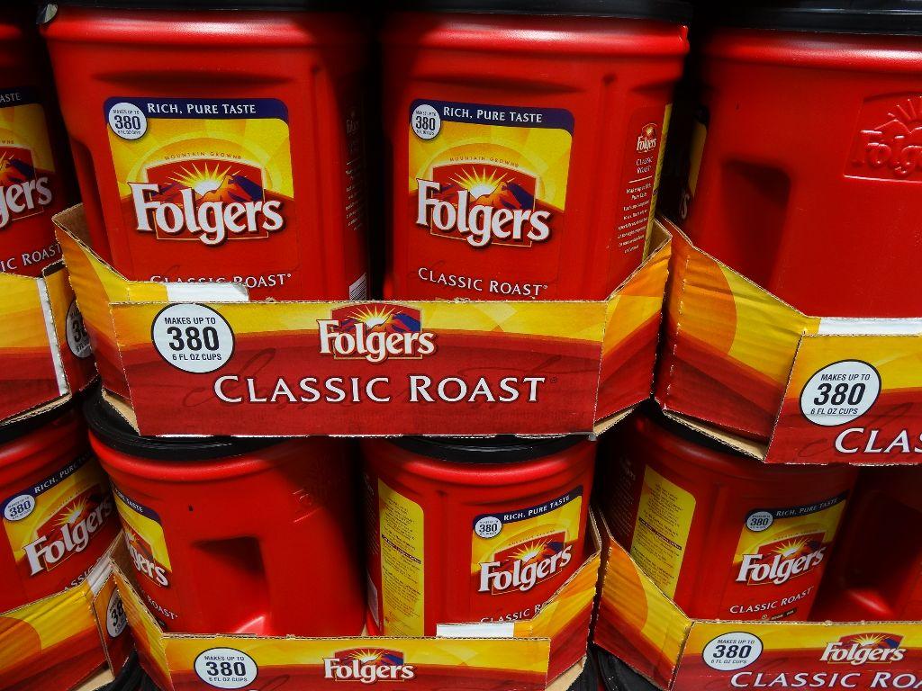 Folgers Classic Roast Costco