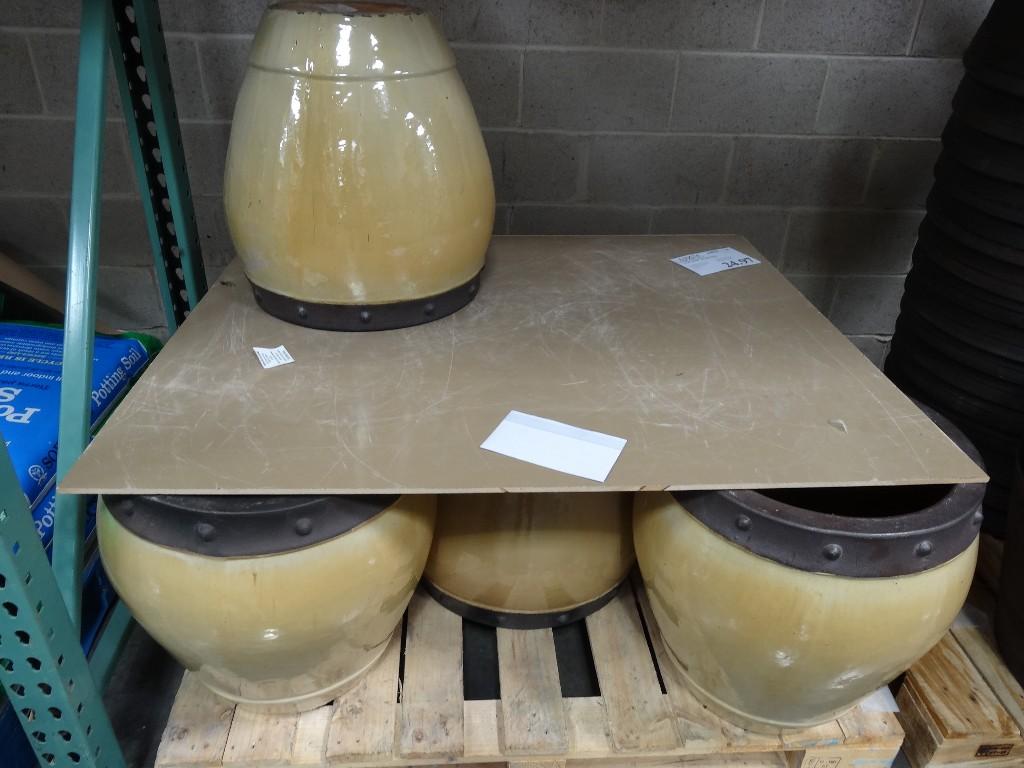 Fortino Ceramic Planter Costco