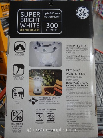 GE Plus LED Lantern Costco 2