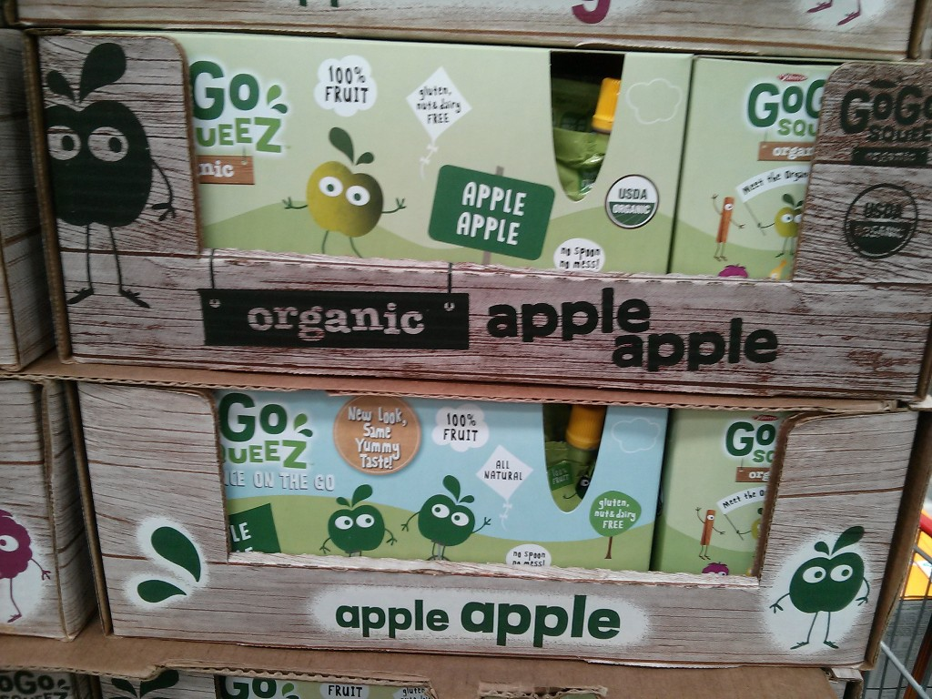 GoGo Squeez Applesauce Costco