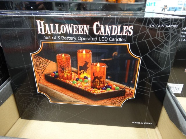 Halloween LED Candles Costco