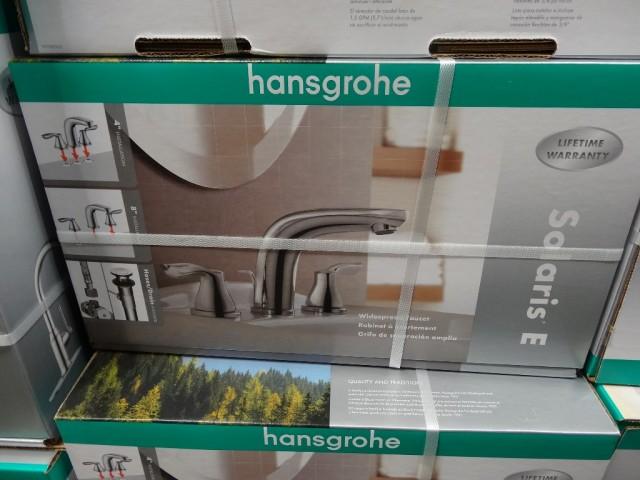 Hansgrohe Solaris E Chrome Bath Faucet