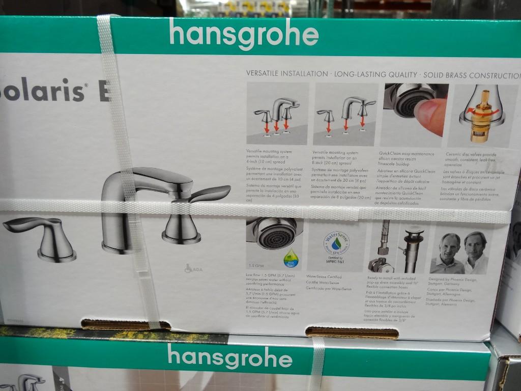 Bathroom Faucet Costco hansgrohe solaris e chrome bath faucet