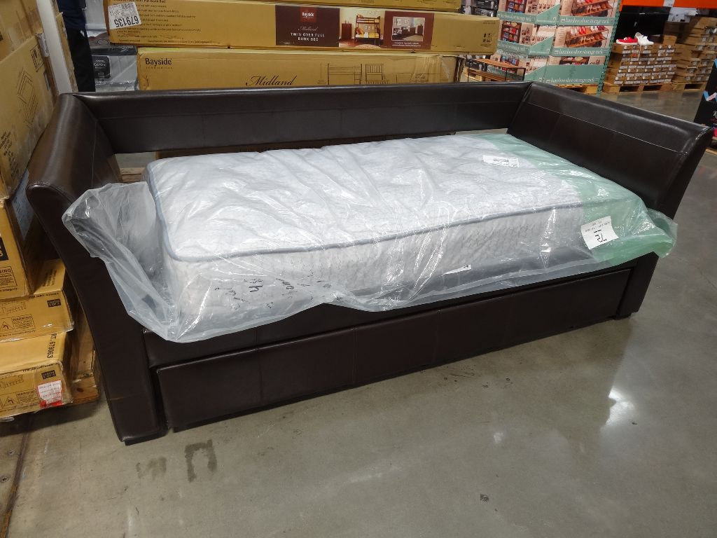 twin bed mattress costco the mattresses are not included and have to be purchased separately