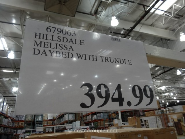 Hilldale Melissa Daybed with Trundle Costco