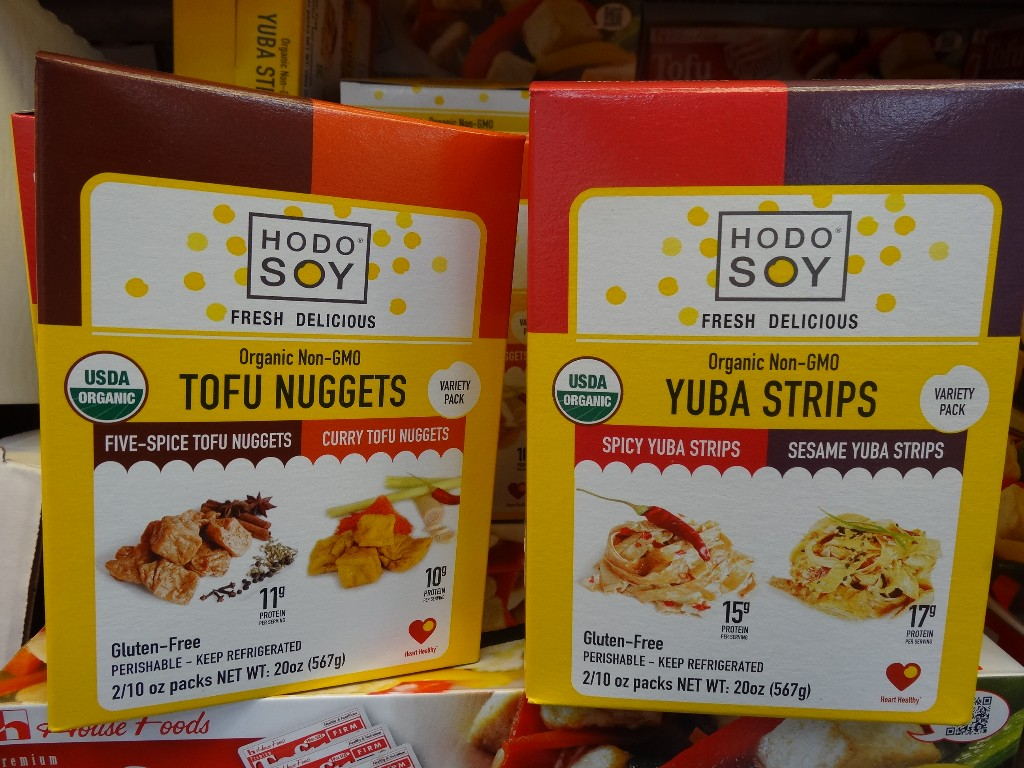 Hodo Soy Tofu Nuggets and Yuba Strips Costco