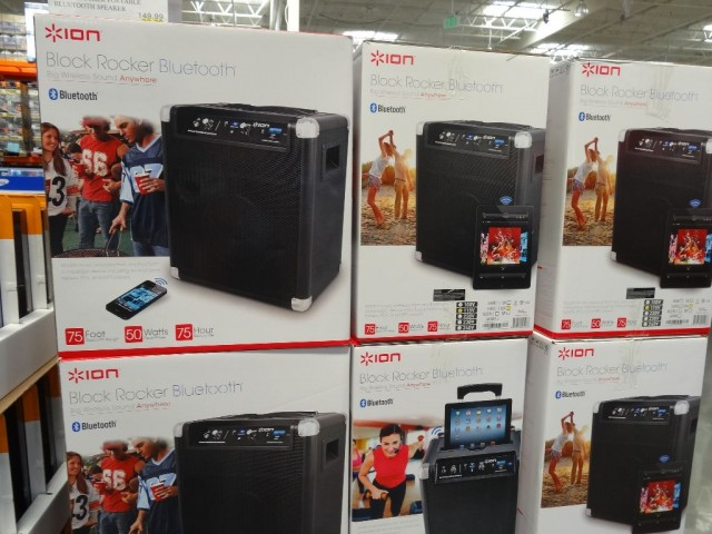 Ion Block Rocker Portable Bluetooth Speaker Costco