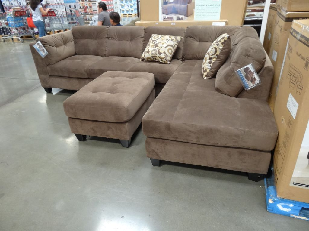 3 Piece Sectional Costco Synergy Jacob Leather Swivel Glider Recliner
