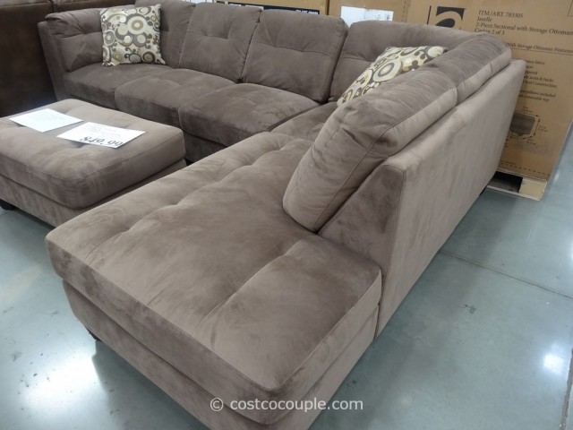 Jacobsen 3 Piece Sectional Costco 1