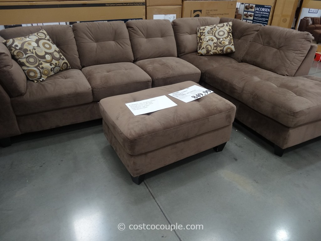 ... Costco 2 Marks And Cohen Jacobsen 3 Piece Sectional