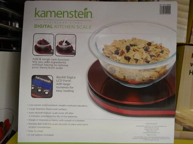 Kamenstein Digital Kitchen Scale Costco