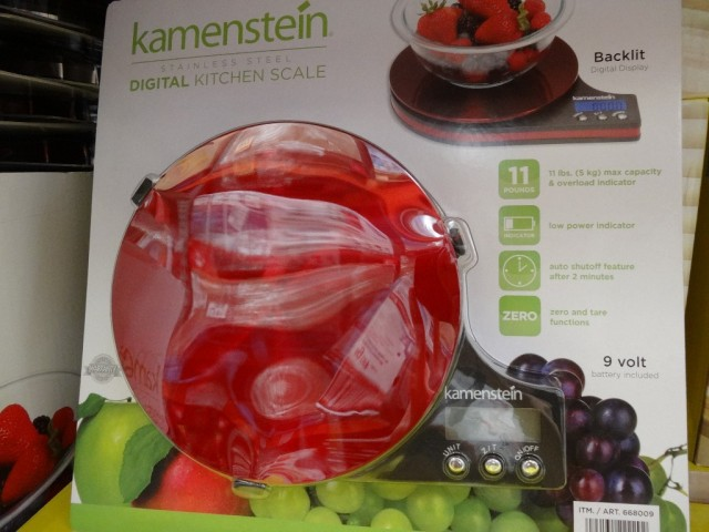 Kamenstein Digital Kitchen Scale Costco