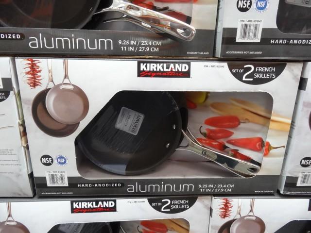 Kirkland Signature Hard Anodized Aluminum French Skillet
