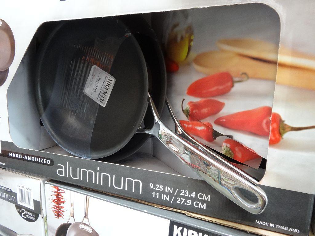 Kirkland Signature Hard Anodized Aluminum Skillet Costco