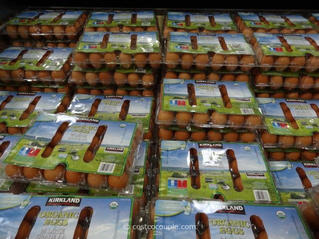 Kirkland Signature Organic Brown Eggs Costco 1