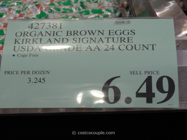 Kirkland Signature Organic Brown Eggs Costco 2