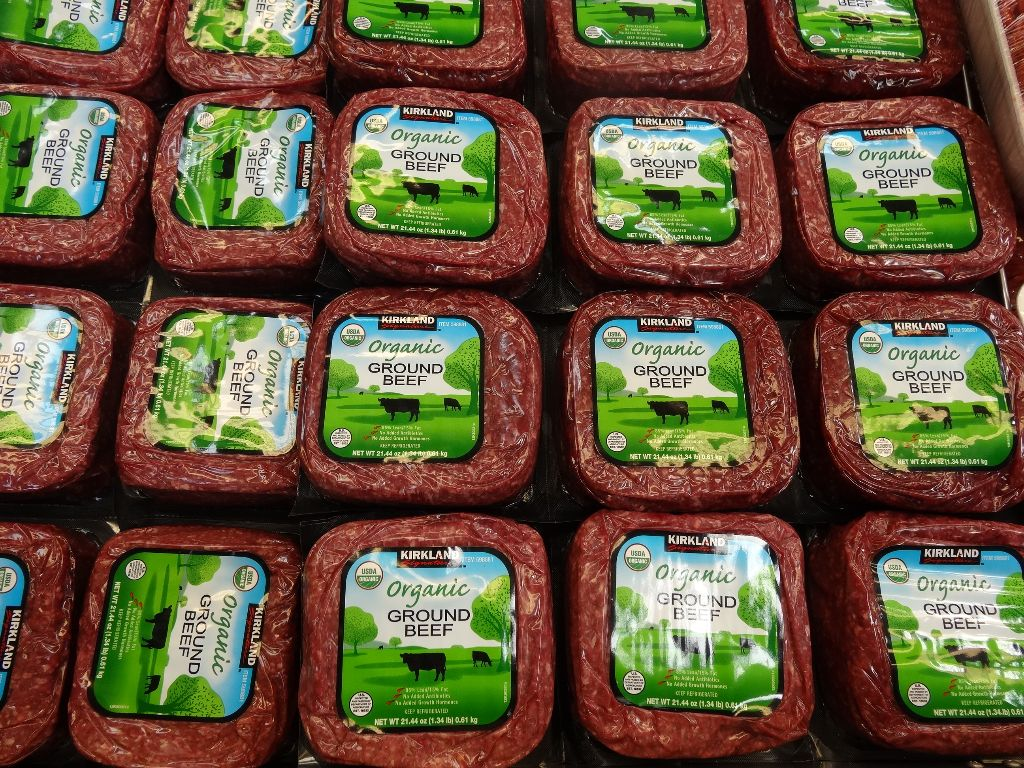 Kirkland Signature Organic Ground Beef Costco