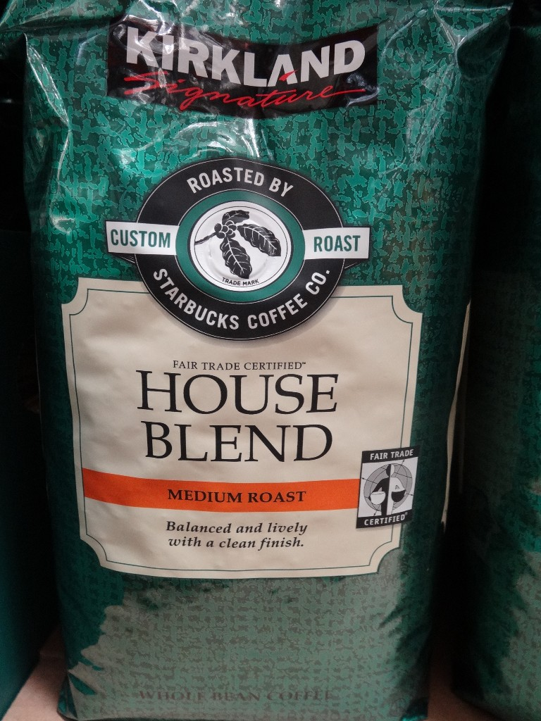 Kirkland Signature Starbucks House Blend Costco