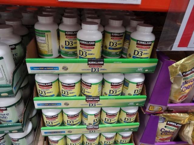 Kirkland Signature Vitamin D3 Costco