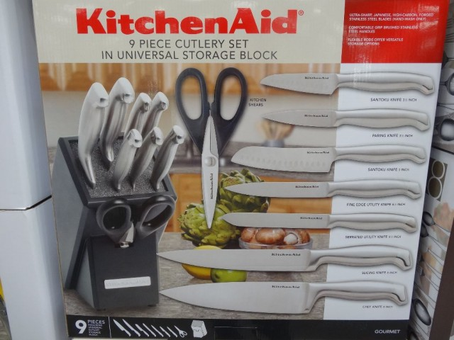 KitchenAid 9 Piece Cutlery Set Costco