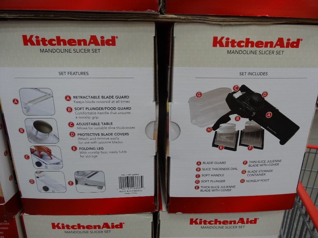Kitchenaid Mandoline Slicer Set Costco