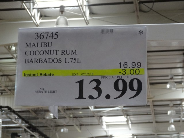Malibu Coconut Rum Costco