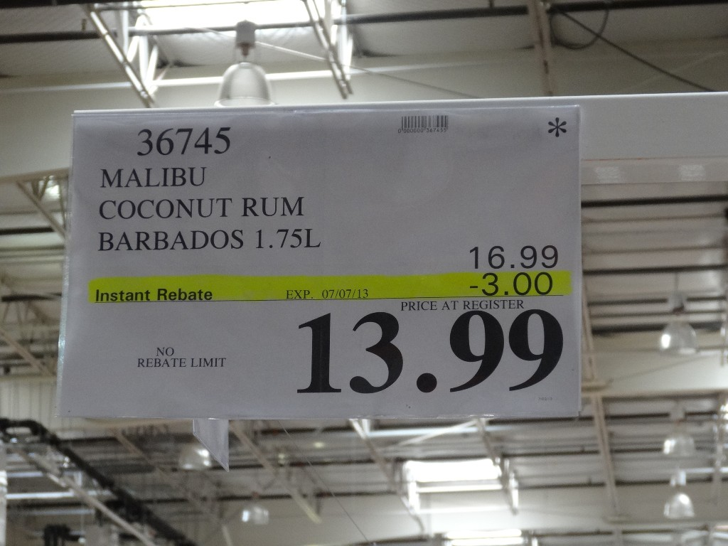 Costco Hotel Discounts >> Malibu Original Coconut Rum