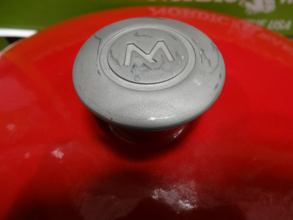 Mario Batali 6 Qt Chianti Cast Iron Round Dutch Oven