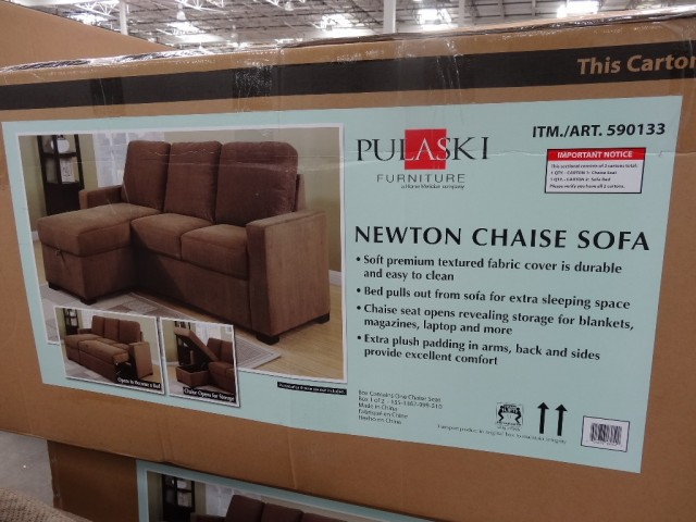Newton Chaise Sofa Costco