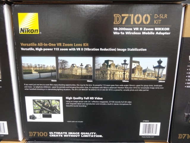 Nikon D7100 DSLR Kit Costco