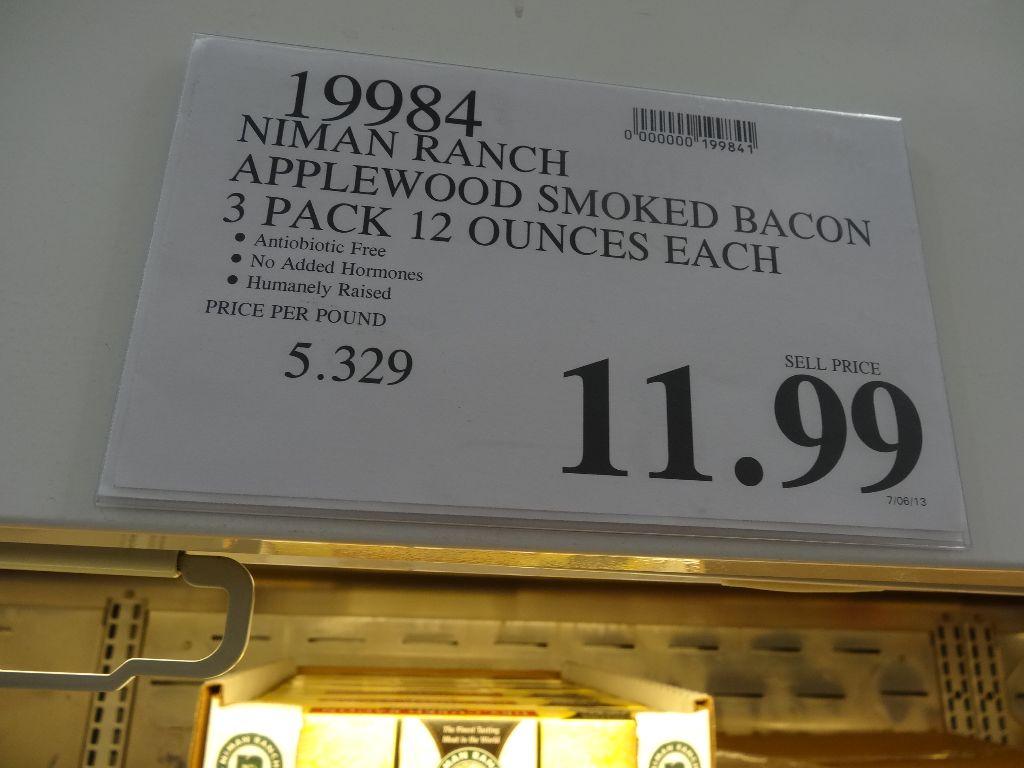 Niman Ranch Applewood Smoked Bacon
