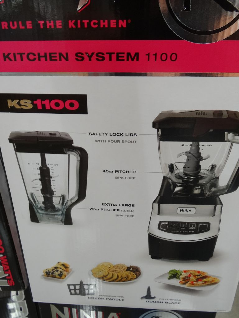 Ninja Kitchen System 1100 Costco - Kitchen Appliances Tips ...
