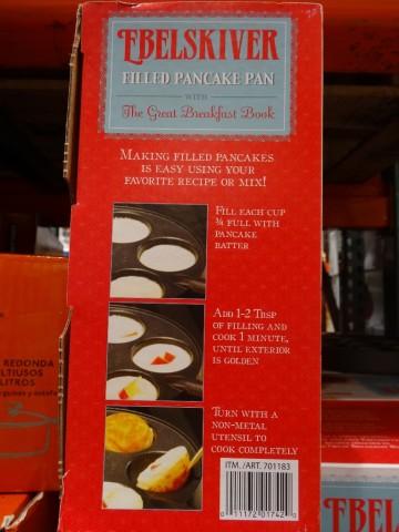 NordicWare EbelSkiver Filled Pancake Pan Costco
