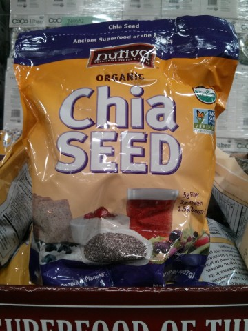 Nutiva Organic Chia Seeds Costco