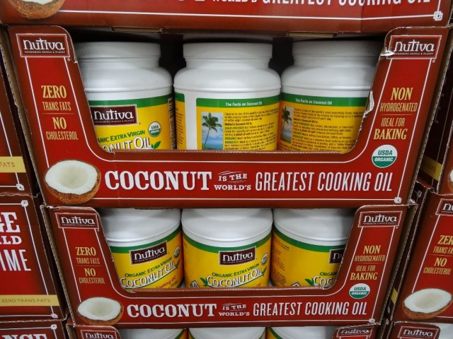 Nutiva Organic Extra Virgin Coconut Oil Costco