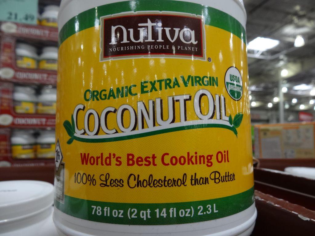 Nutiva Organic Extra Virgin Coconut Oil – Costco vs Whole Foods