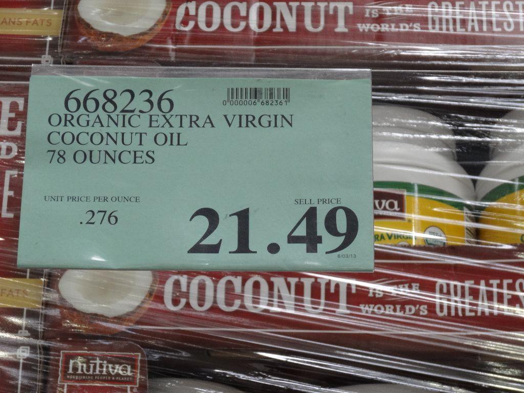 costco coconut oil for skin