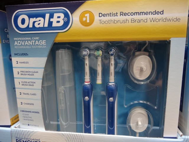 Oral B Professional Care Advantage Rechargeable Toothbrush