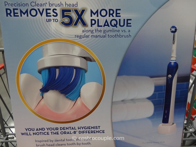 Oral-B Professional Care Advantage Rechargeable Toothbrush Costco 4