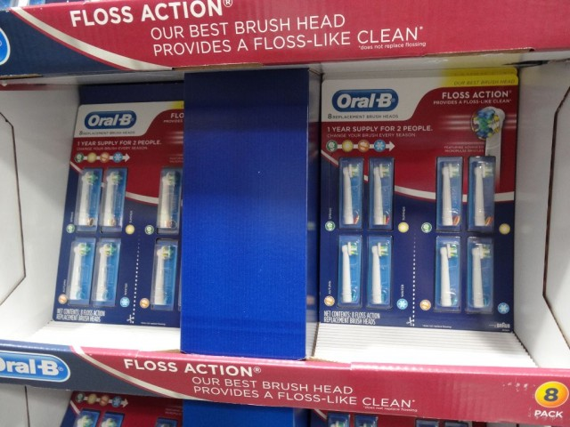 Oral-B Replacement Brushheads Costco