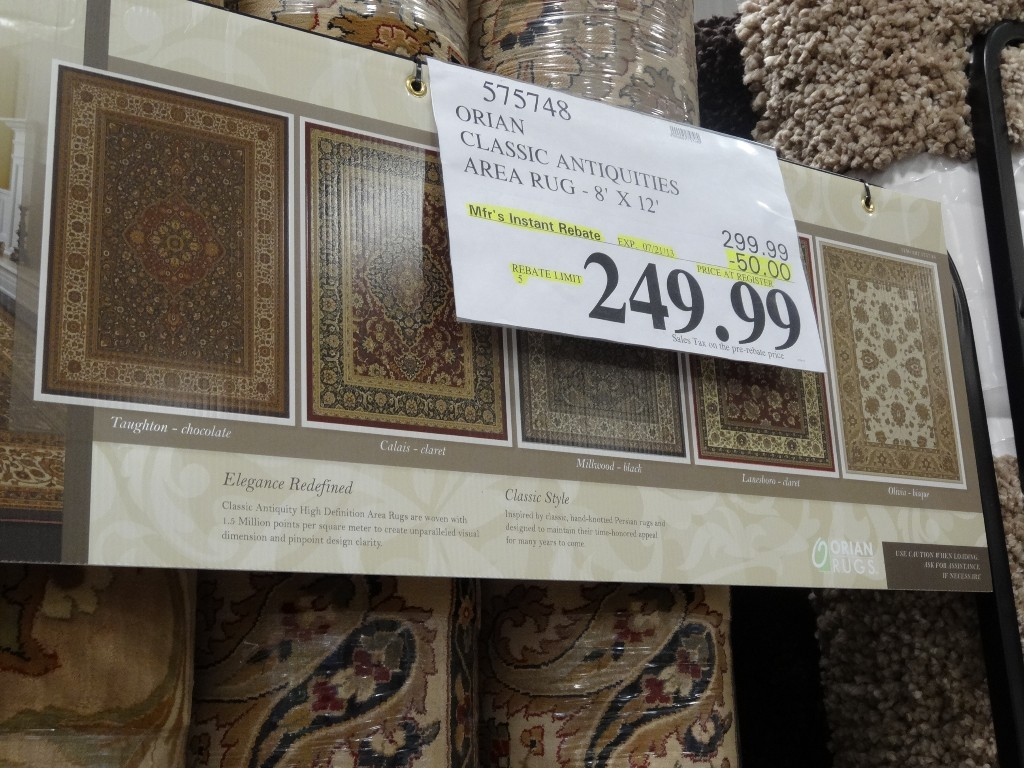 Orian Classic Antiquities Area Rug Costco