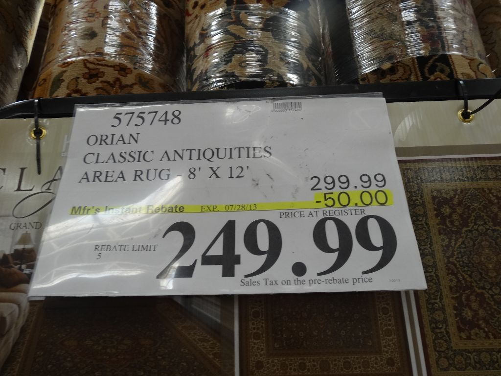 Orion Area Rug Costco