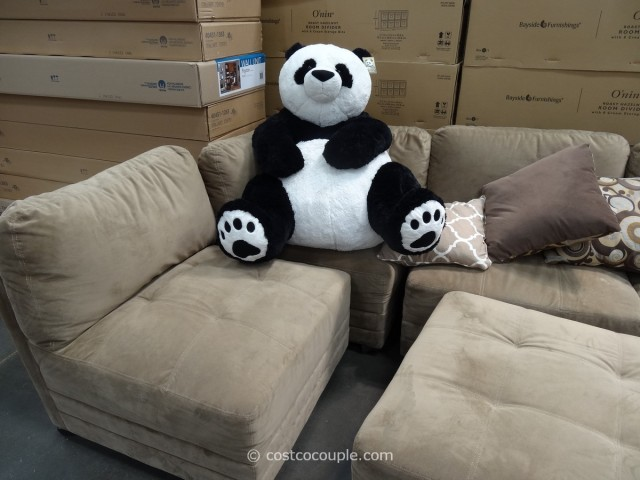 Panda Chilling on Canby Sofa
