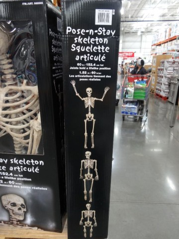 Pose-N-Stay Skeleton Costco