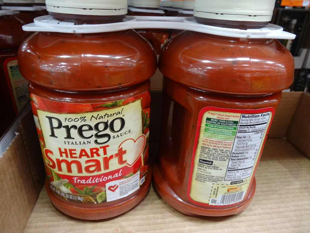 Prego Heart Smart Italian Sauce Costco