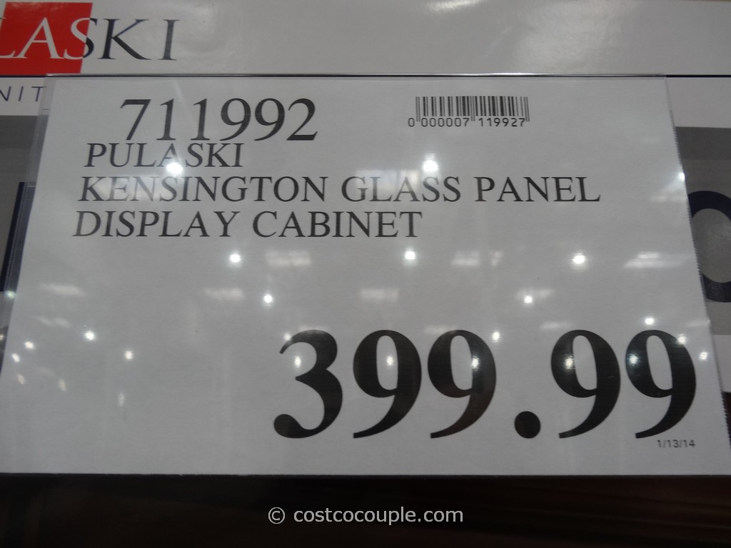 UPDATE 01/15/14: The Pulaski Kensington Display Cabinet is available