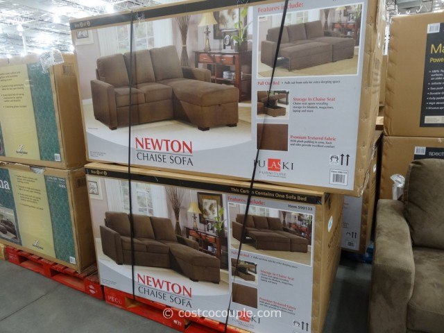 Pulaski Newton Chaise Sofa Bed Costco 4