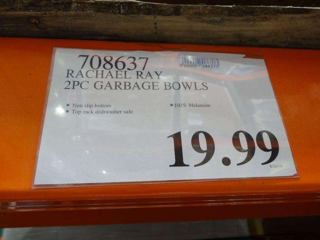 Rachael Ray Garbage Bowls